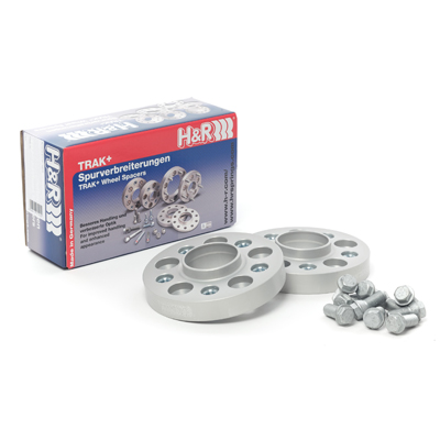 H&R Trak+ 20mm (40mm Per Axle) Hubcentric Wheel Spacers & Bolts
