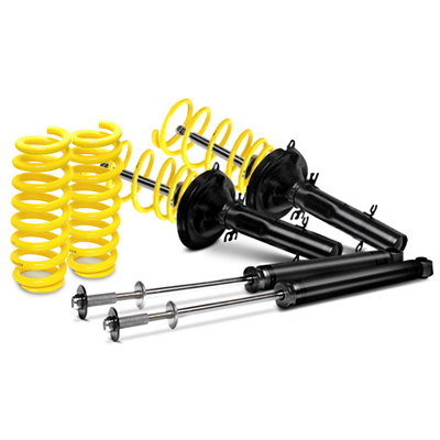 ST by KW 50mm Sport Lowering Springs & Shocks Suspension Kit